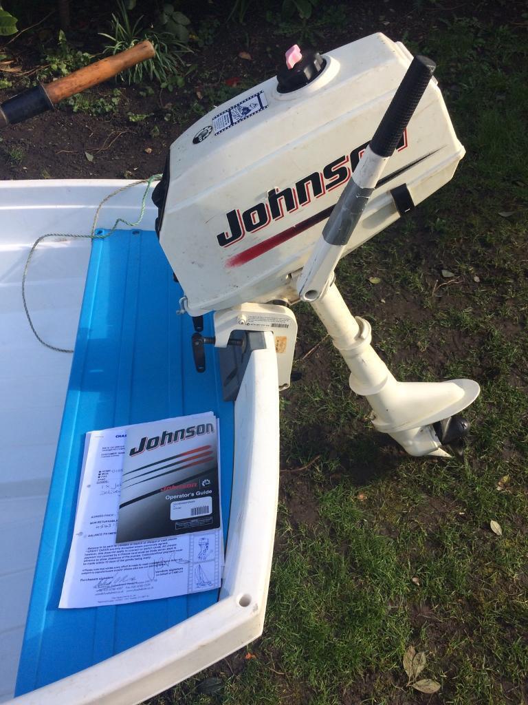 Johnson 3 5 Hp Outboard Motor