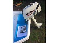 Johnson 3.5 HP, Outboard motor