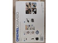 Dremel DSM20-3/4 Compact Saw with 3 Attachments and 4 Accessories, 710 W
