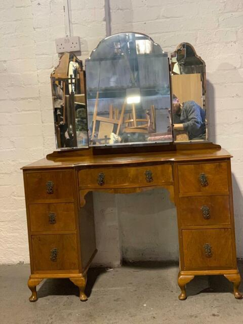 separation shoes 7bc9c ccc0f Vintage circa 1940s Dressing table with triple mirror.   in Kirkintilloch,  Glasgow   Gumtree