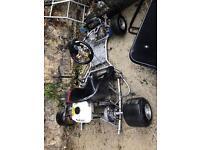 200cc professional Honda racing go kart £550