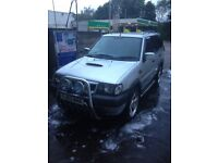 7seater 2.7td terrano PCs welcome