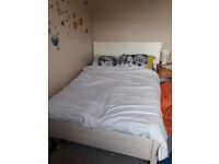 Double Bed - Warren Evans in white