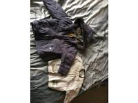 Coat and jumper 12-18m