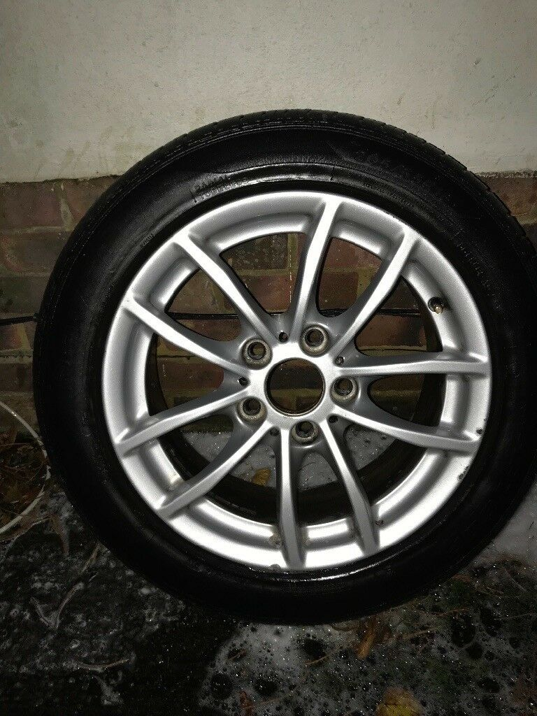 "BMW 1 series 17"" Alloys & Tyres - GENUINE BMW - Fit F20 / F21"