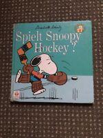 Snoopy Buch Spiel Snoopy Hockey? Brandenburg - Wernsdorf Vorschau