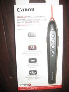 Canon Wireless Presenter. Laser Pointer. 50ft Range. Volume Button. Laptop PC Computer Macbook Surface Compatible. NEW