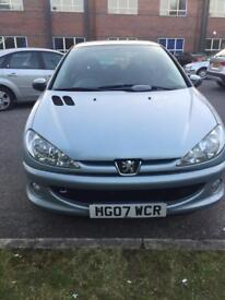 PEUGEOT 206 1.4 LOOK 3DR MANUAL PETROL 1.4L HATCHBACK