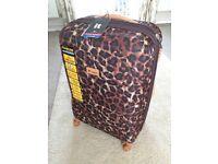 it luggage Leopard Ionian Classic 8 Wheels Large Suitcase BNWT BNIB