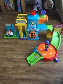 Toot Toot Drivers Police Station V Tech child's toy