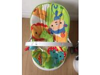 Fisher price rainforest fun and fold bouncer
