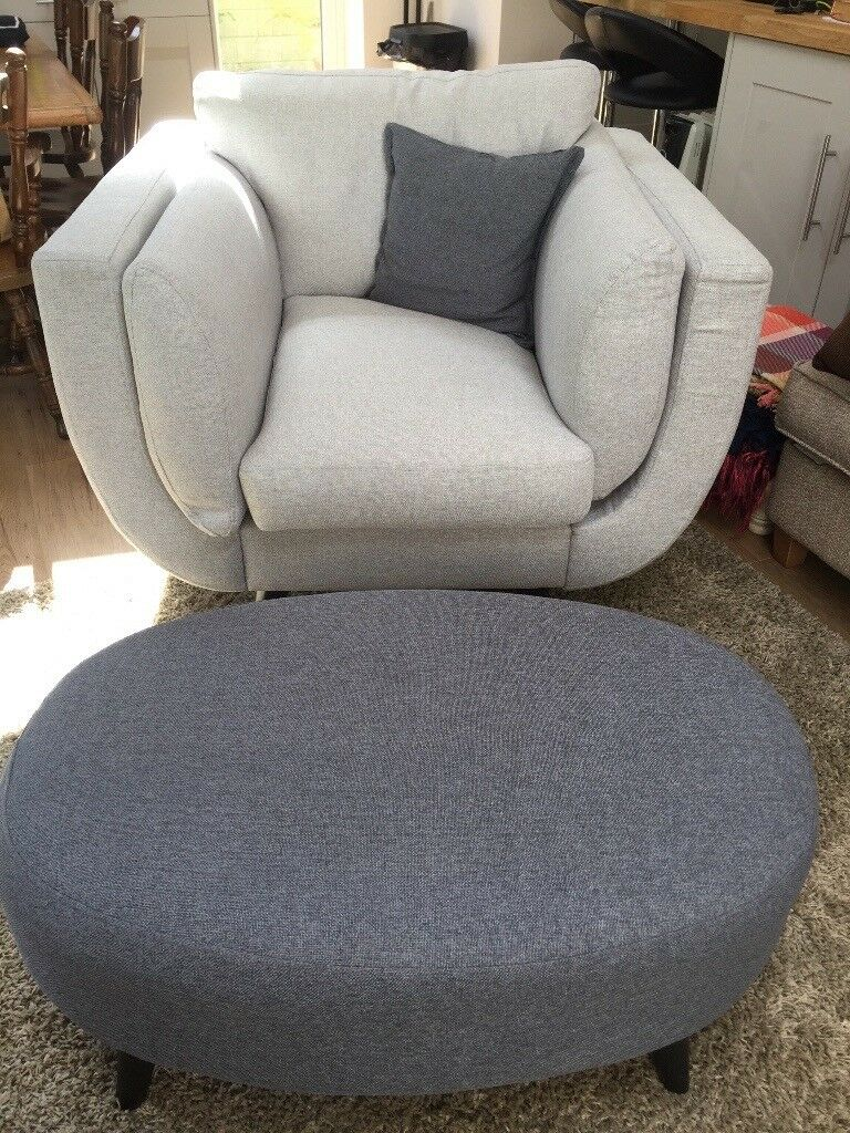 Brand New Zuri Dfs Armchair With Fabric And Stain Protection  ~ Stain Protection For Fabric Sofa