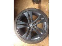 Skoda fabia Monte Carlo alloy wheel