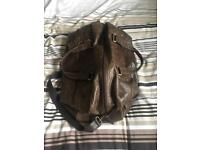 Rowallan Hold-all / Leather Travel Bag