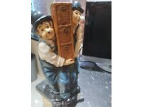 Bargain laurel and hardy wine bottle holder