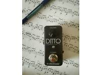 TC Electronic Ditto loop pedal ( looper )