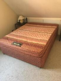 Silentnight Bed and Mattress (double)