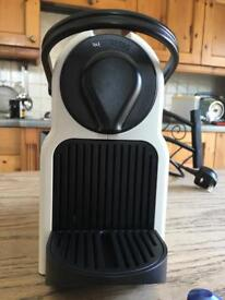 White Nespresso Machine