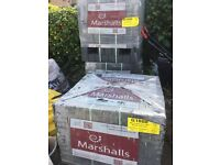 Brand New Marshalls Block Paving in Charcoal (1,464)