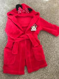 12-18 month Minnie Mouse dressing gown