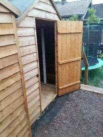 Whole storage shed 6'x4'' TO RENT