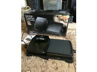 George Foreman Entertaining Grill and Griddle - used twice