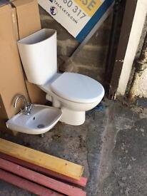 Cloakroom bathroom suite