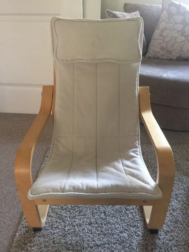 ikea poang kids chair x 2 | in cambridge, cambridgeshire | gumtree