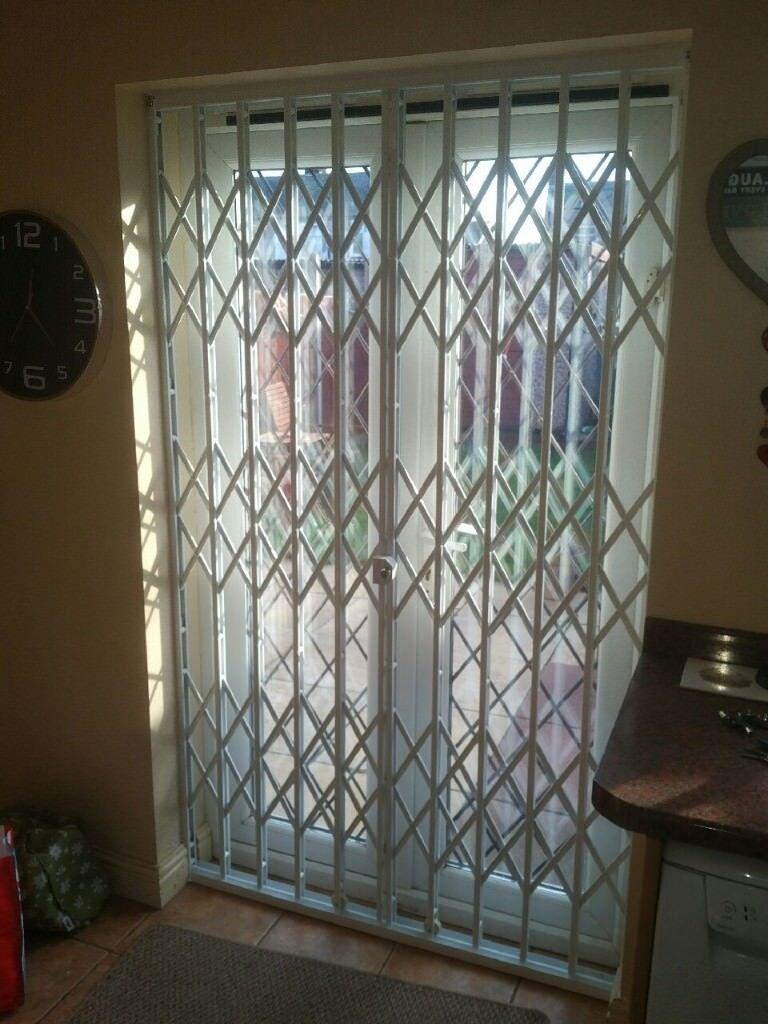 Window Security Shutter Grilles Patio French Door Security