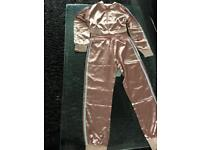 Rose pink tracksuit