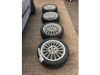 Vw Alloys fit T4 7.5 inch by 17, 5 by 112 pcd