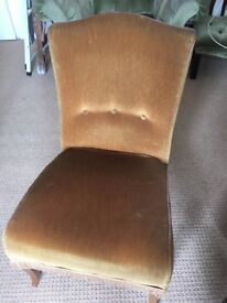 Single chair - good upholstery project