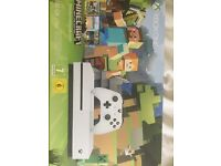 **Brand new and sealed** XBOX ONE S Minecraft Edition 500gb console