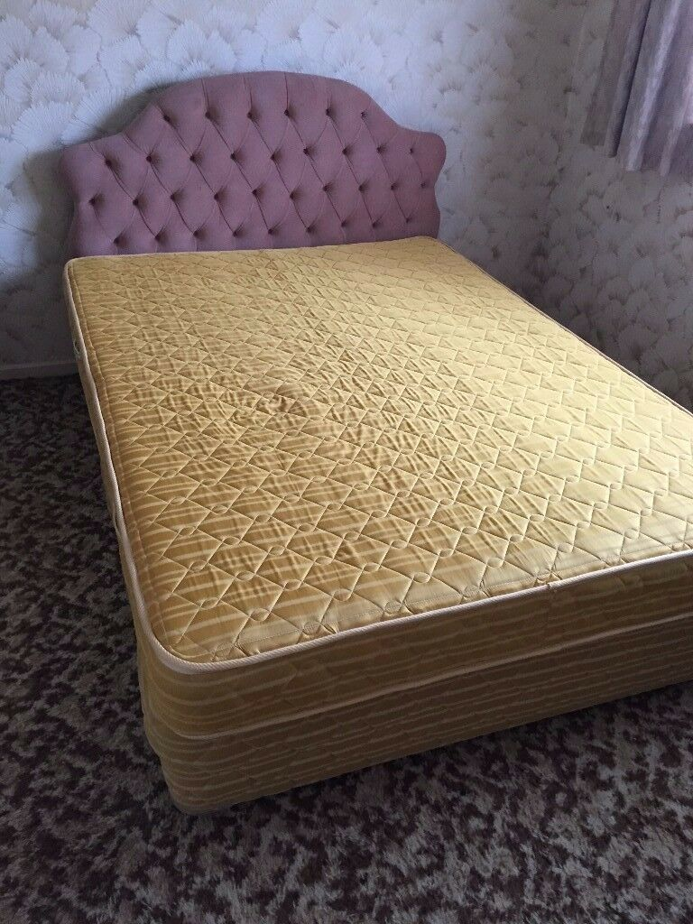 4ft 6in Double Bed with Mattress