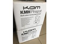 KAM LED MOVING HEAD DISCO LIGHTS