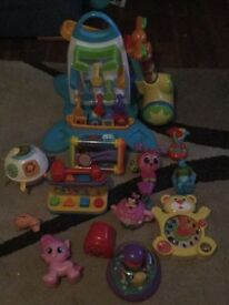 Selection of baby/kids toys