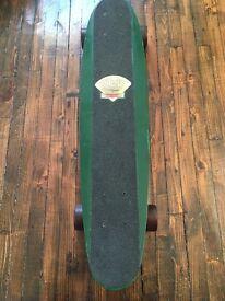 Ultra-rare vintage 70s G&S Fibreflex skateboard, ACS 651 trucks, Road Rider 4 wheels