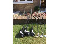 Wilson Deep Red Junior Flex Golf Clubs