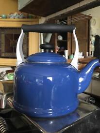Le Creuset Marseille Blue Kettle Aga Stovetop 2.1 liters