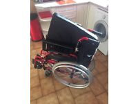 Drive Devilbiss Enigma Wheel Chair large 20inch Seat