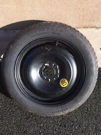 Spare wheel space saver ford