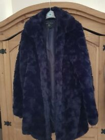 Ladies faux fur coat