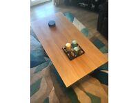 Light Oak Coffee Table