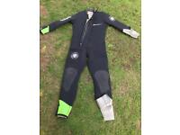 Diving wetsuit (and equipment)