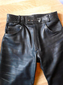 leather trousers,jeans frank thomas fit 32 waist 35 ins leg