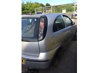 Corsa c rolling shell. Breaking banger stock car