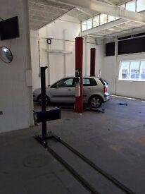 Garage Workshop premises To Let