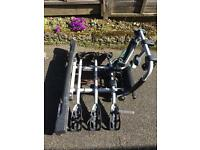 Witter zx310 three bike cycle carrier