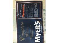Bed double Myers/Myerpaidic excellent condition with pine headboard buyer collects