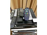 Sky box and dvd player
